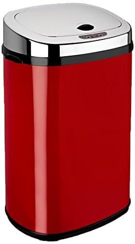 poubelle dihl-automatique-face-rouge