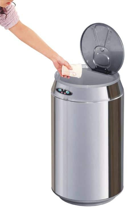poubelle automatique canette ouverture bis