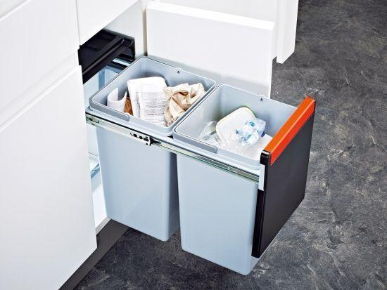 poubelle encastrable sous evier franke sorter cube 30 deco