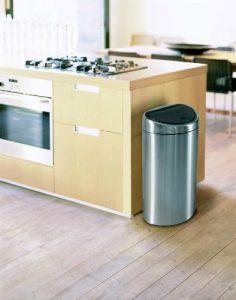 poubelle mecanique Barbantia Touch Bin cuisine