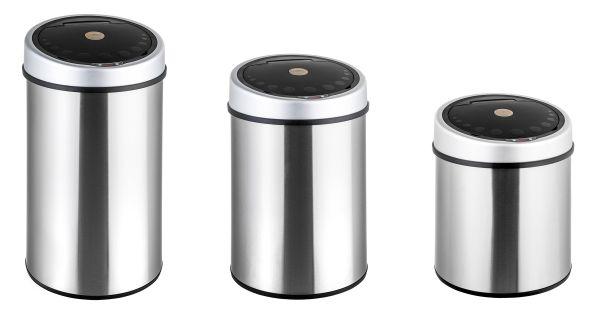 poubelle TecTake 50 litres 40 litres 30 litres automatique