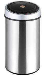 poubelle TecTake 50 litres automatique inox