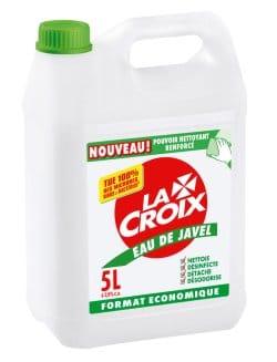 enlever odeur poubelle eau de javel