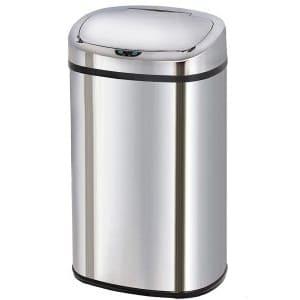 poubelle inox automatique
