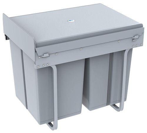 poubelle 1 home 40 litres fermée