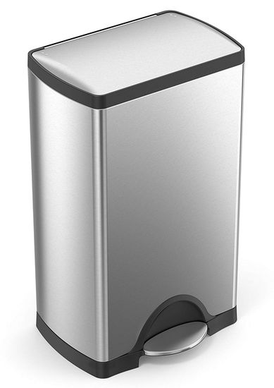 poubelle simplehuman 38 litres apparence
