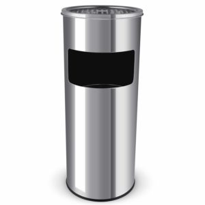 Poubelle cendrier Homfa 30 litres
